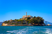 Alcatraz Metal Prints - Alcatraz Island Metal Print by James O Thompson