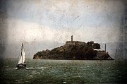 Alcatraz Prison Framed Prints - Alcatraz Island Framed Print by RicardMN Photography