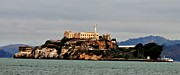 Fbi Prints - Alcatraz Island - The Rock Print by Tap On Photo
