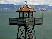 Alcatraz Metal Prints - Alcatraz No Escape Metal Print by Daniel Hagerman
