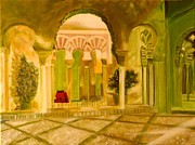 Sanchez Painting Prints - Alcazaba  Print by Manuel Sanchez
