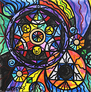 Healing Art Paintings - Alchemy by Teal Eye  Print Store