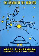 Alder Planetarium Print by The  Vault - Jennifer Rondinelli Reilly
