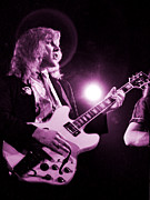 Concert Photos Art - Alex Lifeson of Rush-Permanent Waves tour-Cow Palace 3-14-80/Special Price for 1st 5  by Daniel Larsen