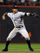 Mlb Photo Posters - Alex Rodriguez Poster Poster by Sanely Great