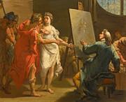 Famous Artists - Alexander presenting Campaspe to Apelles by Gaetano Gandolfi