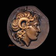 Greek Sculpture Sculpture Framed Prints - Alexander Framed Print by Patricia Howitt