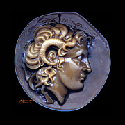 Classical Sculpture Framed Prints - Alexander the Great Framed Print by Patricia Howitt