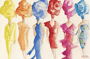 For Sale Paintings - Alexis Mabille Couture - Fashion Illustration Art Print by Beverly Brown Prints