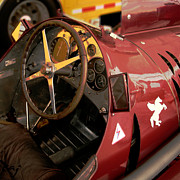 Curt Johnson - Alfa Romeo 8c 35 Cockpit