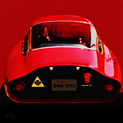 Curt Johnson - Alfa Romeo GTZ 1964 Red