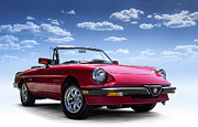 All - Alfa Spider by Douglas Pittman