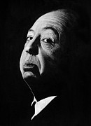 Alfred Hitchcock Paintings - Alfred Hitchcock by Barry Mckay