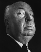 Hitchcock Framed Prints - Alfred Hitchcock Framed Print by Studio Photo