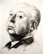 Hitchcock Originals - Alfred Hitchcock by Sydni Kruger