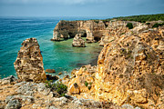 Seascape Metal Prints - Algarve Series Metal Print by Josh Whalen