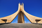 Algiers Martyrs Monument Print by Miguel Torres