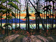 Ontario Paintings - Algoma Sunset by Michael Swanson
