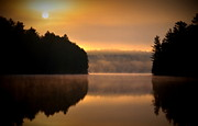 Algonquin Park Sunrise Print by Andrew Lorimer