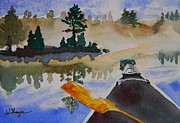 Warren Thompson Art Prints - Algonquin Provincial Park Ontario Canada  Print by Warren Thompson