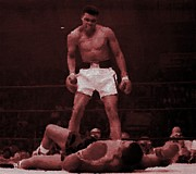 Sonny Prints - Ali vs Liston Print by Woolman Brothers
