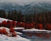 Suzanne Tynes Art - Alice Creek by Suzanne Tynes