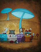 Charlene Murray Zatloukal - Alice in Wonderland Art...