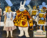 Movie Art Digital Art - Alice In Wonderland by Studio Poster