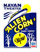 Wpa Prints Framed Prints - Alien Corn 1938 Framed Print by Padre Art