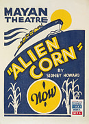 Alien Corn Print by American Classic Art