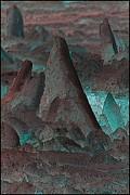 Alien Landscape Print by WB Johnston