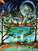 Amy LeVine - Alien Nature Scene