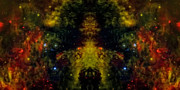 Mandala Photos - Alien Reflection 1 by The  Vault - Jennifer Rondinelli Reilly