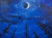Pallet Knife Painting Originals - Alignment by William Killen