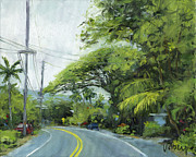 Stacy Vosberg Prints - Alii Drive Print by Stacy Vosberg