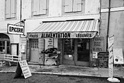 Local Food Metal Prints - Alimentation Small General Store Mont-louis Pyrenees-orientales France Metal Print by Joe Fox