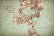 Issa Prints - Alive Beneath Cherry Blossoms Print by Paulette Wright