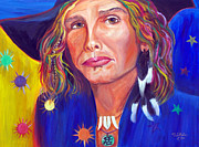 Steven Tyler Painting Originals - Alive by To-Tam Gerwe