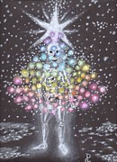 Tree Of Life Pastels - All a Glow by Dennis Goodbee