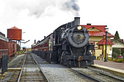 Engine Photo Prints - All Aboard Print by Paul W Faust -  Impressions of Light