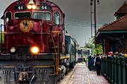 Van Buren Arkansas Posters - All Aboard Poster by Tony  Colvin