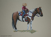 Usa Pastels - All American Girl by Susan Herber