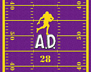 Adrian Peterson Posters - All Day Poster by Cristophers Dream Artistry
