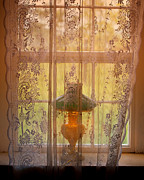 Lace Curtains Prints - All Fellow Travelers II Print by Stephen Anderson