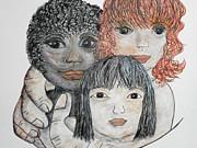 All God's Children II Print by Eloise Schneider