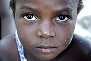 African Child Originals - All in the Eyes by Marc Levine