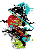 Destruction Digital Art Metal Prints - All is vanity Metal Print by Budi Satria Kwan