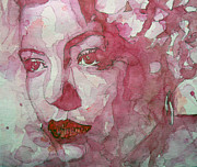 Jazz Singer Prints - All Of Me Print by Paul Lovering