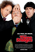Distress Posters - All Pain No Brain Poster by The Three Stooges Movie
