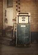 Gasoline Framed Prints - All Pumped Out Framed Print by Amy Weiss